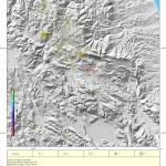 L'Aquila, l'evoluzione mensile del terremoto. Agosto 2011