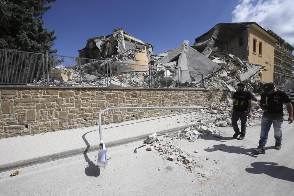 Terremoto, scuola amatrice: entro lunedi' 26 settembre pronto il tetto