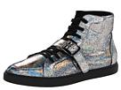 Vivienne Westwood - Crack Trainer (Cracked Silver) - Footwear