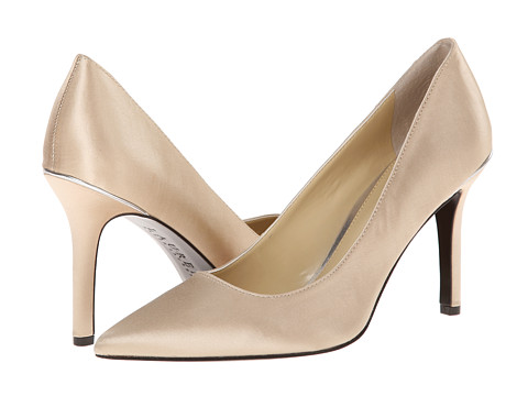 LAUREN by Ralph Lauren - Sarina (Champagne Satin) High Heels
