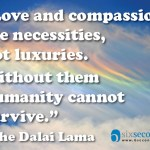 Is compassion &quot;nice&quot; or &quot;need&quot;?