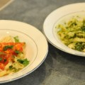 Homemade Pasta with Basic Pecan Pesto or Fresh Tomato Sauce (Who Knew It Was So Easy?) – $10 or Less Meal