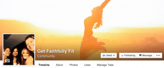 get faithfully fit website design 720media spiritual fitness
