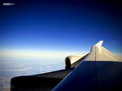 Natural Scenery Pics, an Aeroplane Flying in the Blue Sky, Feeling Safe and Secured | Free ...