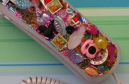 Glitzy Altered Phone
