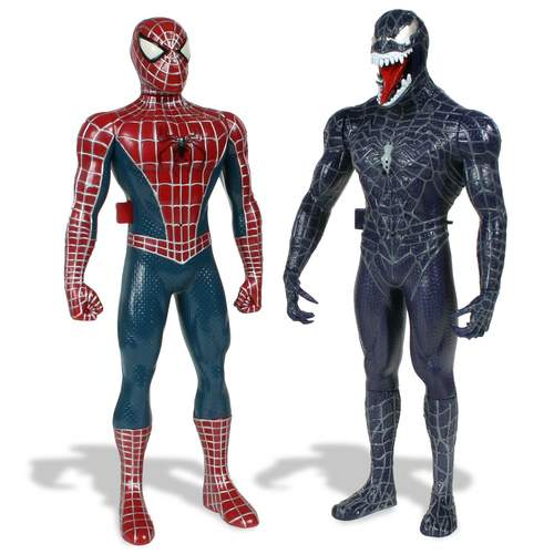 Walkie Talkies - Red Spider-Man and Venom