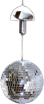 solar powered disco ball