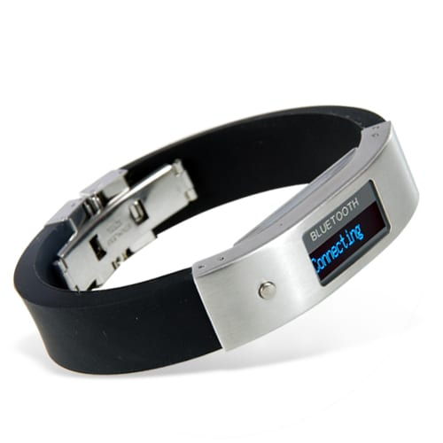 Bluetooth Bracelet with Vibration and LCD Display