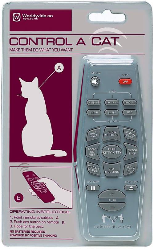 Control a Cat Remote