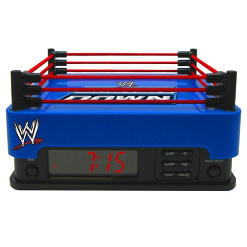Digital Blue WWE Smackdown Alarm Clock Radio