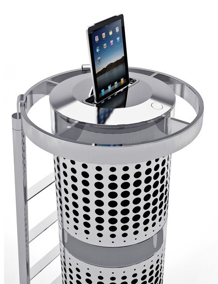 The tallest iPod dock stands