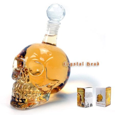 Crystal Head Skull Liquor Wine