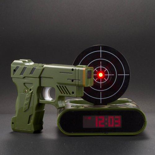 target alarm clock/Gun alarm colck