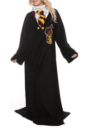 Harry Potter Micro Rashel Comfy Throw Blanket with Sleeves