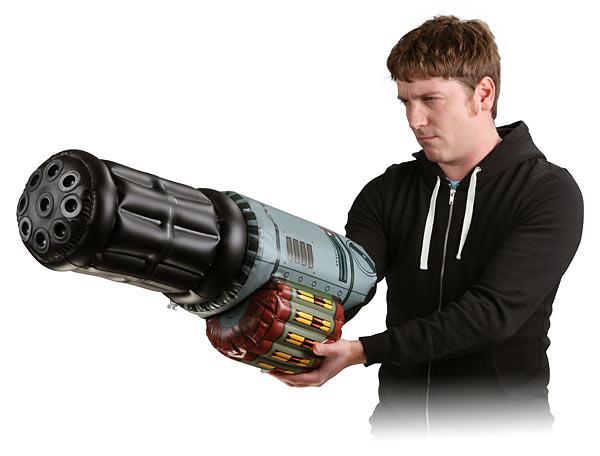 Inflatable Minigun Arm