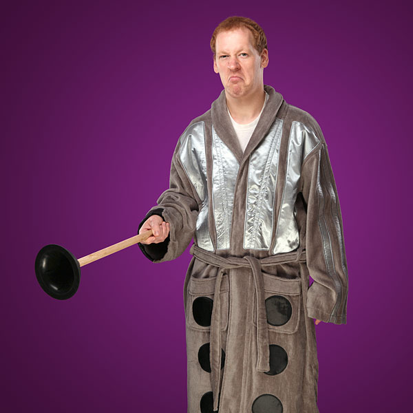 Doctor Who Dalek Bathrobe