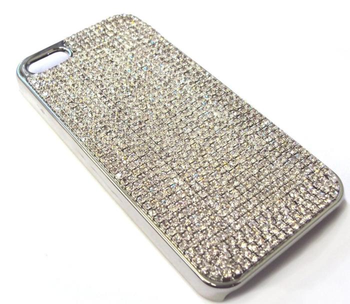 Hand-Made Jewelry Bling Case with Swarovski Crystal for iPhone 5