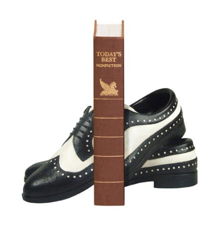 Pair of Dancing Shoe Bookends