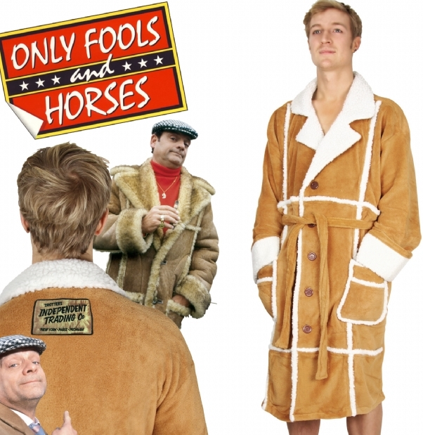 Only Fools and Horses Mens Dressing Gowns
