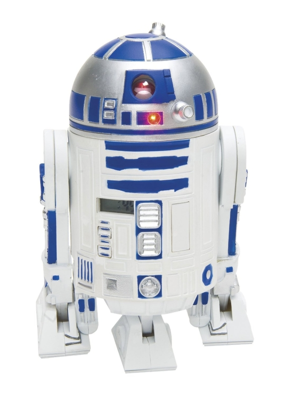 Star Wars R2D2 Projection Alarm Clock