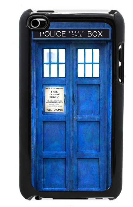 Amazon.com  Blue Police Call Box - Case for iPod Touch 4th Generation - MAIN