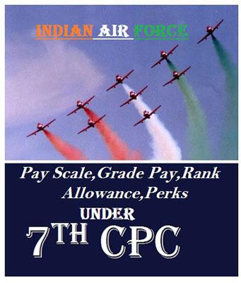 Air force pay scale Grade Rank Salary Allowance Perks