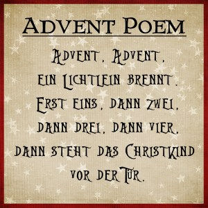 Advent poem copy