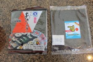 Sushi Nori (seaweed)