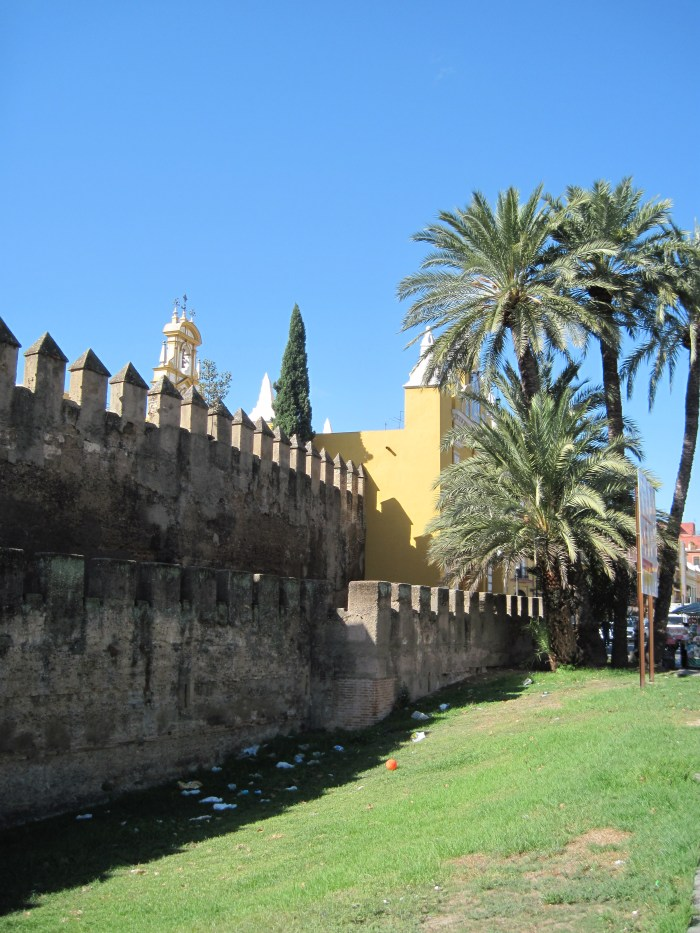 Moorish Wall in front of the Basilica of the Macarena