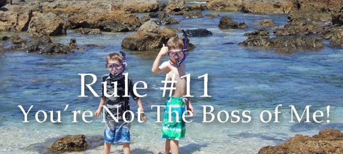 Rule #11 featured copy
