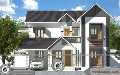 Khd Kerala House Design Free Double Floor Simple & Cute Home Pattern