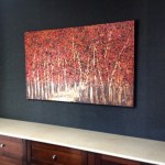 """Further down the Path"" 30X60"" shown in David's Winter Park office"