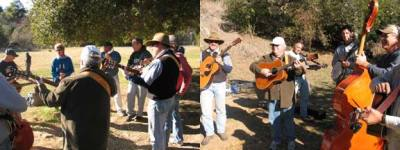 A jam session at Tucker's Grove