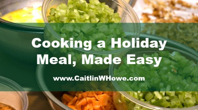 Holiday Meal Easier