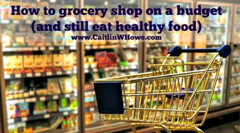 Grocery Shopping Budget Healthy