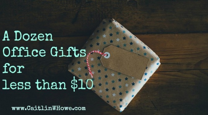A Dozen Office Gifts for Less than $10