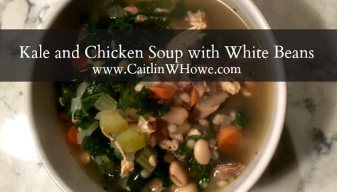 Kale and Chicken Soup with White Beans Pic