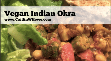 Vegan Indian Okra