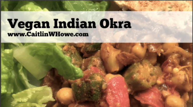 Vegetarian (or Vegan!) Indian Okra