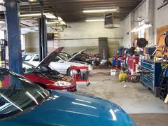 service bays for tune ups
