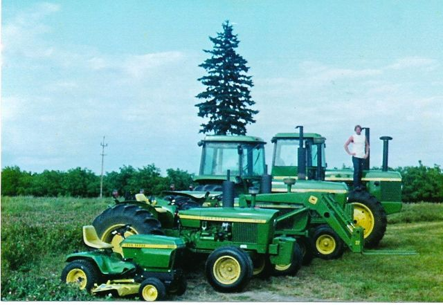 Dennis and John Deere Line-up