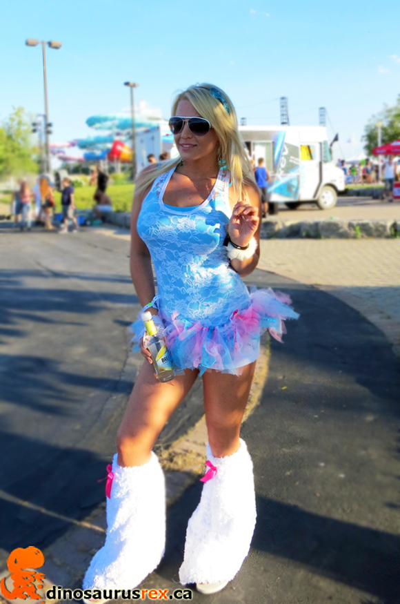 Digital Dreams, Toronto, Canada Day 2012, Canadian Chick, Raver, Sexy, furry boots