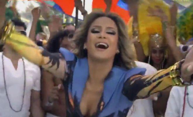 Ver el video oficial de la cancion de Brasil 2014 Mundial FIFA Pitbull Jennifer Lopez Claudia Leitte