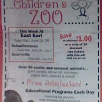 FREE Children's Zoo at Good's in East Earl