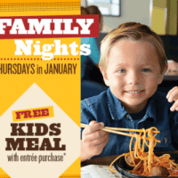 FREE Kids Meal at Noodles & Company on Thursdays