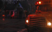 """The Skoolhouse"" Scarezone, Universal Studios Florida, 2008. Photo by HHN Yearbook."