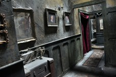 """""""Dead End,"""" Universal Studios Florida, 2012. Photo by HHN Yearbook."""