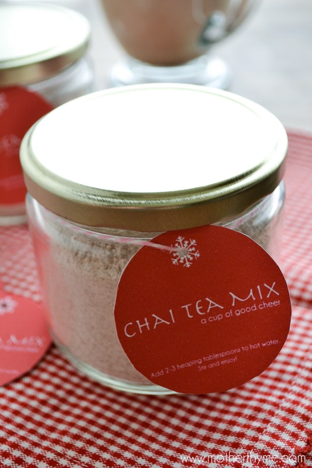 Chai Tea Mix | www.motherthyme.com