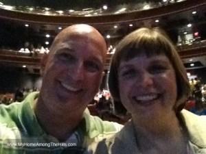 At the Bryan Adams concert