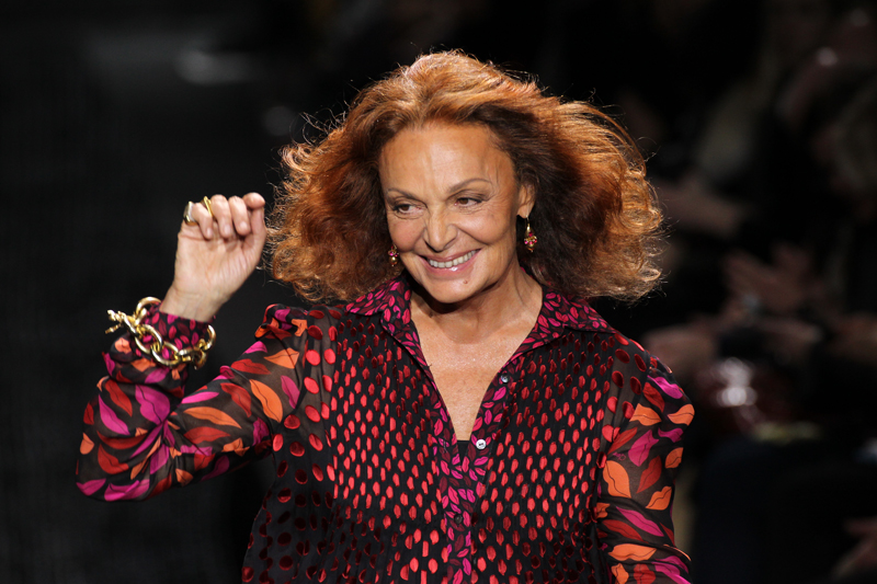 Diane von Furstenberg's 2015 Fall Collection